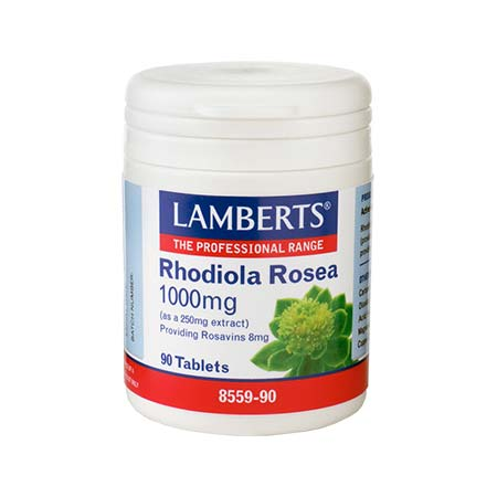 Lamberts Rhodiola Rosea 1000mg 90tabs