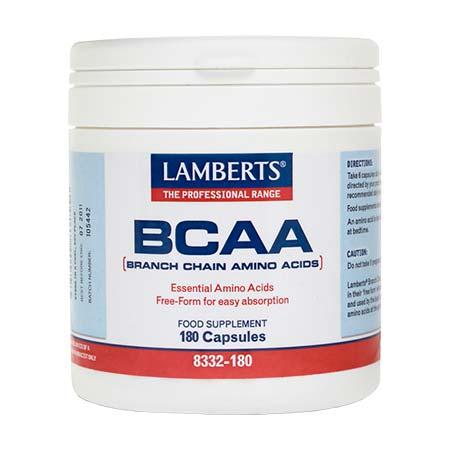Lamberts BCAA - Branch Chain Amino Acids 180caps