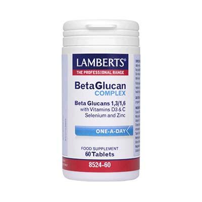 Lamberts Beta Glucan Complex 60 caps