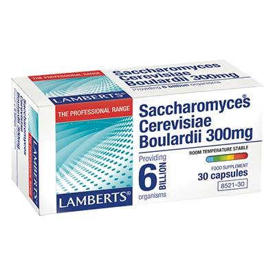 Lamberts Saccharomyces Cerevisiae Boulardi 300mg 30 caps