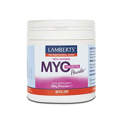 Lamberts Myo Inositol Powder 200gr