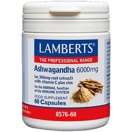 Lamberts Ashwagandha 60 κάψουλες
