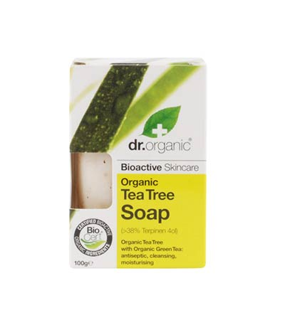 Dr Organic Tea Tree Soap 100gr
