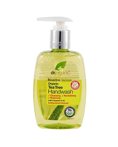 Dr Organic Tea Tree Hand Wash 250ml