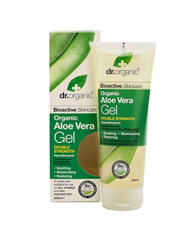 Dr Organic Aloe Vera Gel Double Strength 200ml
