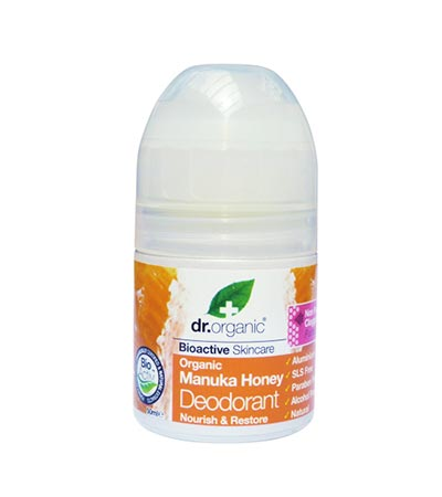 Dr Organic Manuka Honey Deodorant 50ml