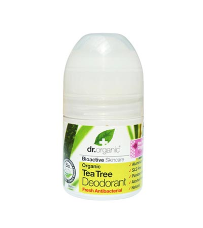Dr Organic Tea Tree Deodorant 50ml