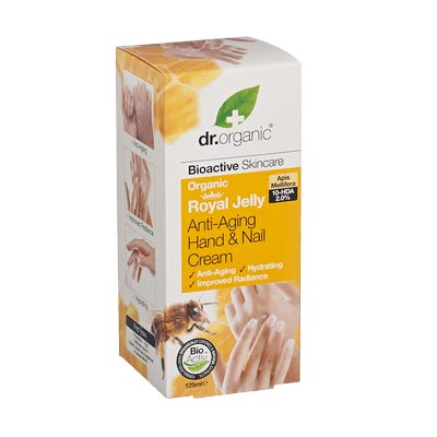 Dr Organic Royal Jelly Anti-Ag.Hand & Nail Cream 125ml