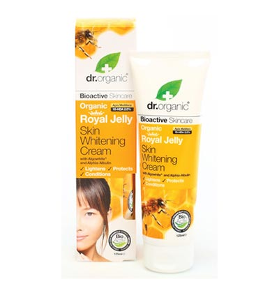 Dr Organic Royal Jelly Skin Whitening Cream 125ml