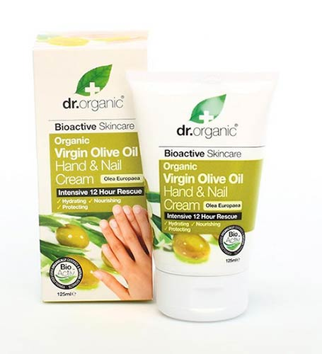 Dr Organic Olive Oil Hand & Nail Cream 125ml