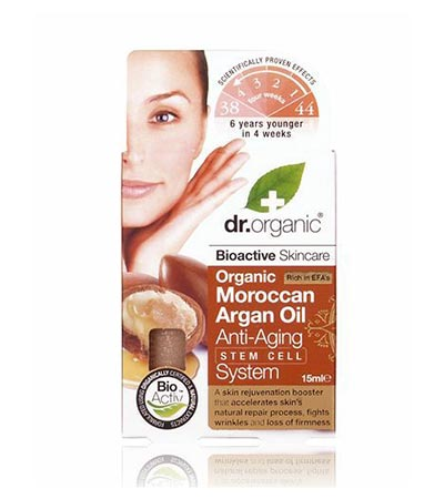 Dr Organic Argan Oil Anti-Aging Stem Cell System15ml