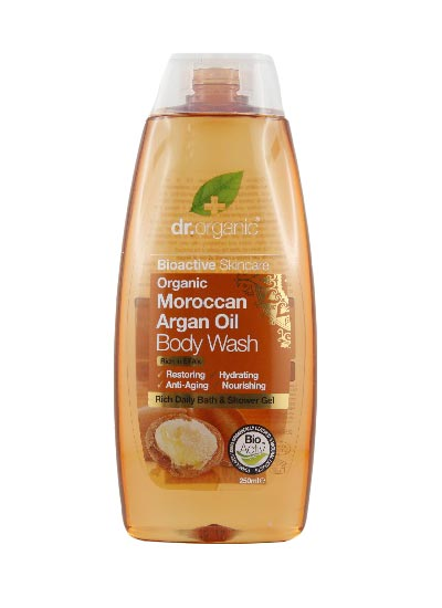 Dr Organic Argan Oil Body Wash 250ml