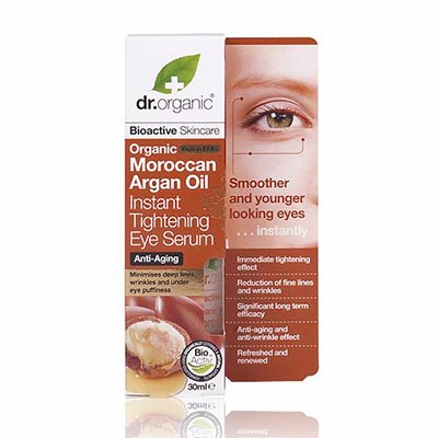 Dr Organic Argan Oil Insant Tightening Eye Serum 30ml