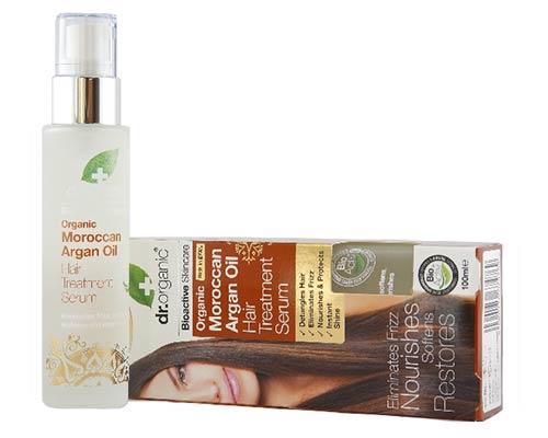 Dr Organic Argan Oil Hair Treatment Serum 100ml