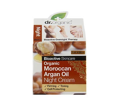 Dr Organic Argan Oil Night Cream 50ml