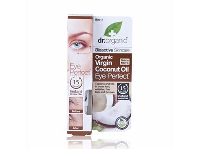 Dr Organic Coconut Oil Eye Perfect Wrin. Filler 15ml