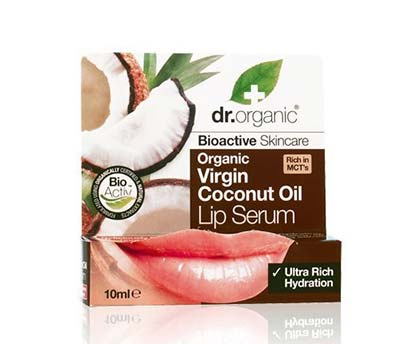 Dr Organic Coconut Oil Lip Serum 10ml