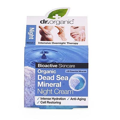 Dr Organic Dead Sea Mineral Night Cream 50ml