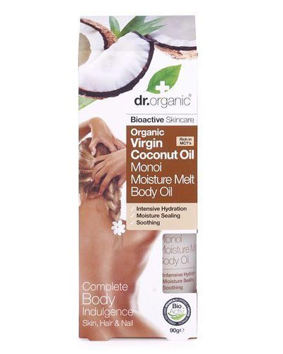 Dr Organic Coconut Oil Moisture Melt Body Oil 90gr