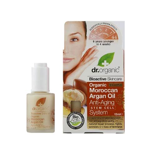 Dr Organic Argan Oil Anti-Aging Stem Cell System 30ml