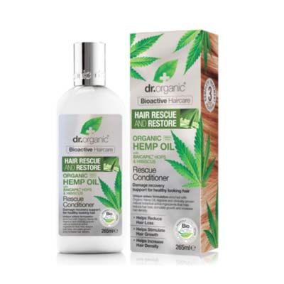 Dr Organic  - Organic Hemp Oil Rescue Conditioner 265ml
