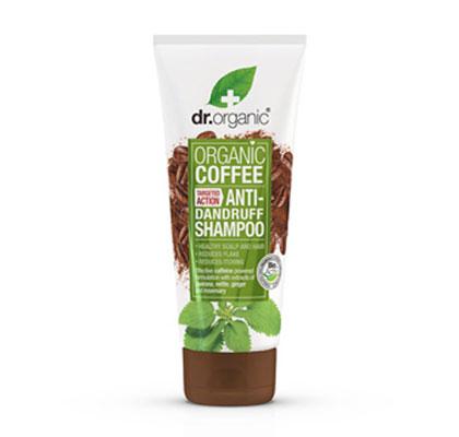 Dr. Organic Coffee Anti-Dandruff Shampoo Σαμπουάν κατά της Πιτυρίδας, 200ml