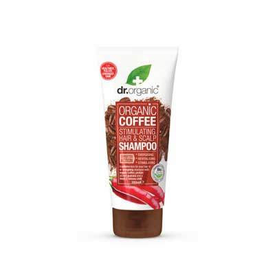 Dr. Organic Coffee Stimulating Hair & Scalp Shampoo Διεγερτικό Σαμπουάν, 200ml