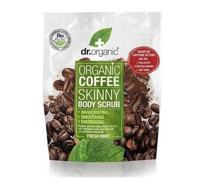 Dr. Organic Coffee Espresso Skinny Body Scrub with Fresh Mint Απολεπιστικό Σώματος, 200ml