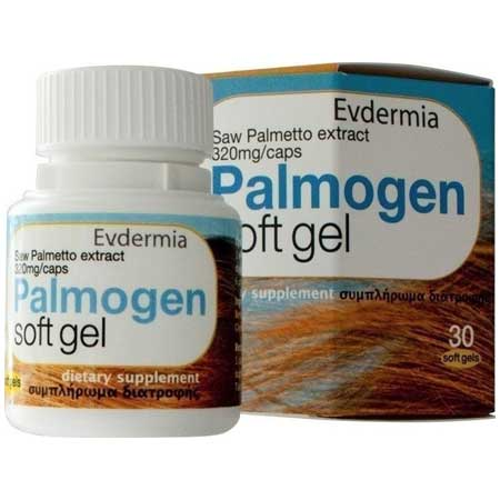 Evdermia Evdermia Palmogen Soft Gel 320mg 30caps