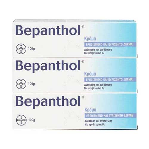 ULTIMATE PROMO SET Bepanthol 3x Κρέμα για Ερεθισμένο & Ευαίσθητο Δέρμα 3x100g