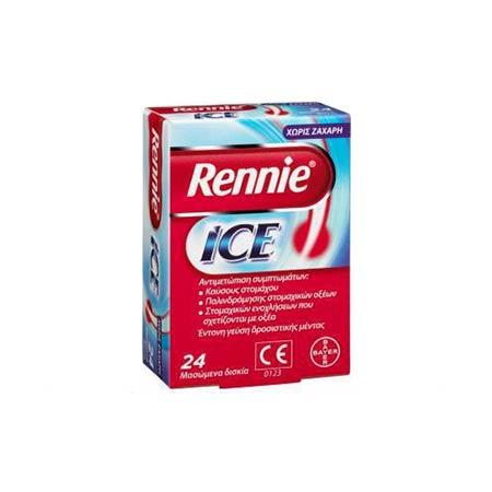 Rennie Ice, 24 μασώμενα δισκία