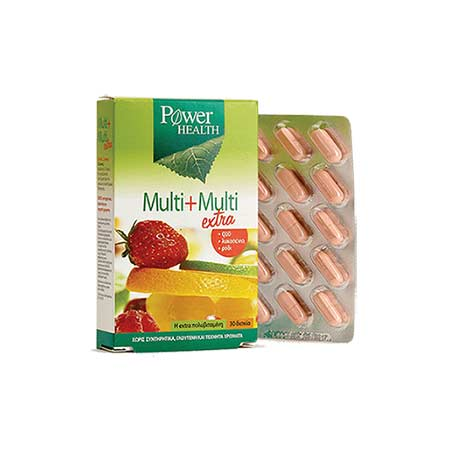 Power Health Multi + Multi extra tabs 30δισκία