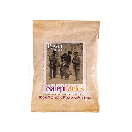 Power Health Salepimeles Caramels Με Σαλέπι & Μέλι 60gr