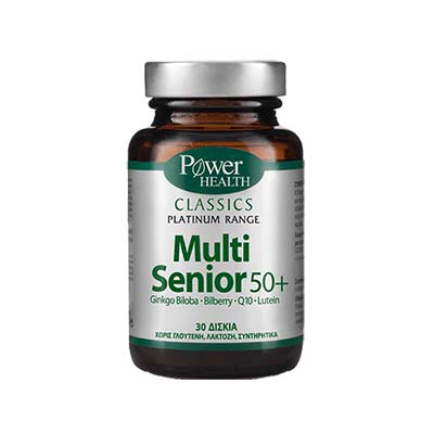 Power Health Classics Platinum Range Multi Senior 50+, 30tabs