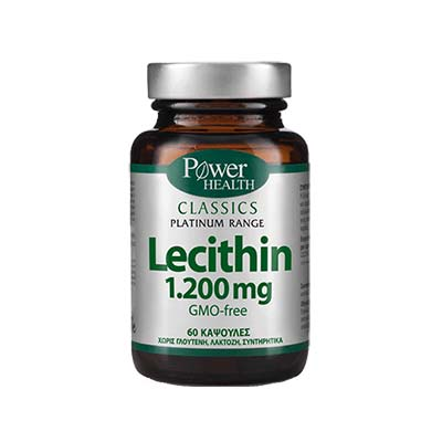 Classics Platinum - Lecithin1.200mg 60s CAPS Power Health