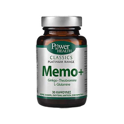 Power Health Classics Platinum Memo+ 30caps