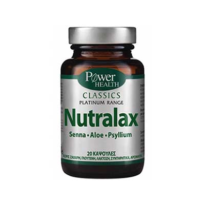 Power Health Classics Platinum - Nutralax 20caps