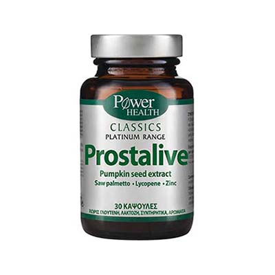Power Health Classics Platinum Prostalive 30caps