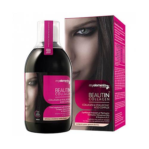 Beautin Collagen Φράουλα - Βανίλια 500ml