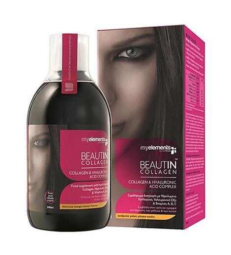 Beautin Collagen Μάνγκο - Πεπόνι 500ml
