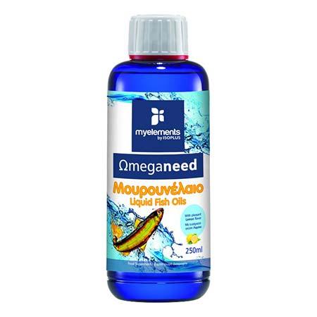My Elements Omeganeed Μουρουνέλαιο με Γεύση Λεμόνι 250ml