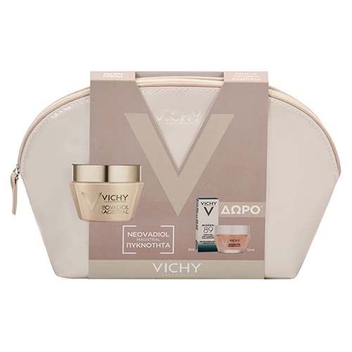 Vichy Neovadiol Magistral 50ml + ΔΩΡΟ Double Glow Peel Mask 15ml + Mineral89 5ml + Νεσεσέρ