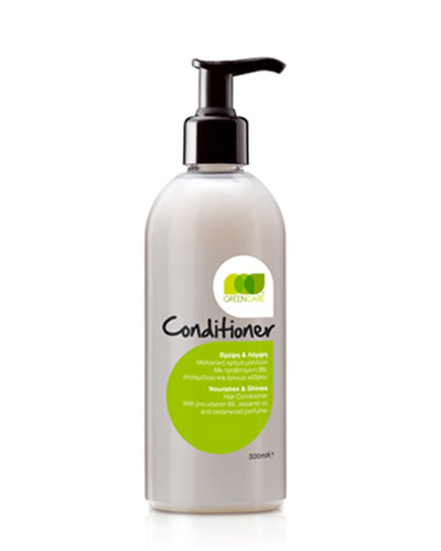 GREEN CARE Μαλακτική κρέμα για όλους τους τύπους μαλλιών 300ml