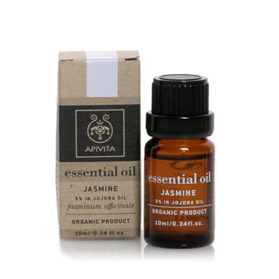 Apivita Essential Oil Γιασεμί 10ml με 10% διάλυμα σε λάδι jojoba