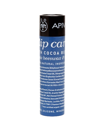 Apivita Lip care with Cocoa Butter SPF20 με κερί μελισσών & λάδι ελιάς 4.4g