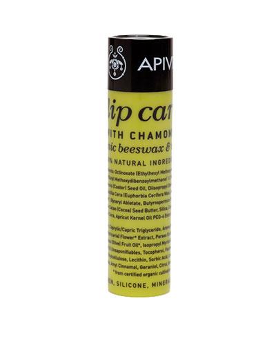 Apivita Lip care with Chamomile SPF15 με κερί μελισσών & λάδι ελιάς 4.4g