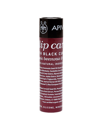 Apivita Lip care with Black Currant με κερί μελισσών & λάδι ελιάς 4.4g