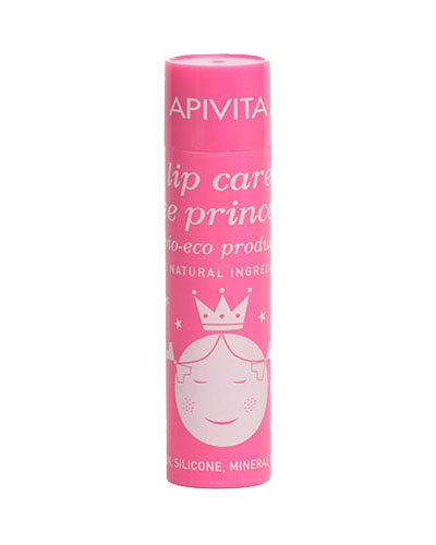 Apivita Lip care bee Princess bio-eco με βιολογικό βερίκοκο & βιταμίνες 4.4g
