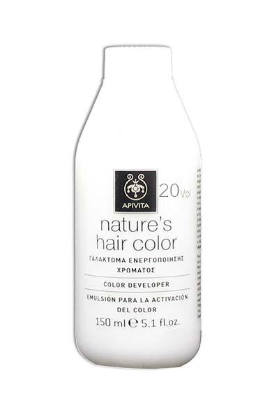 Apivita Natures Hair Color Γαλάκτωμα Ενεργοποίησης Χρώματος 20Vol, 150ml