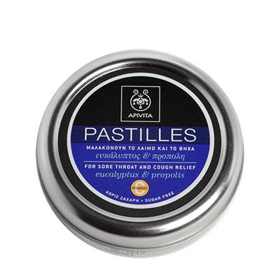 Apivita Παστίλιες με ευκάλυπτο & πρόπολη 45g